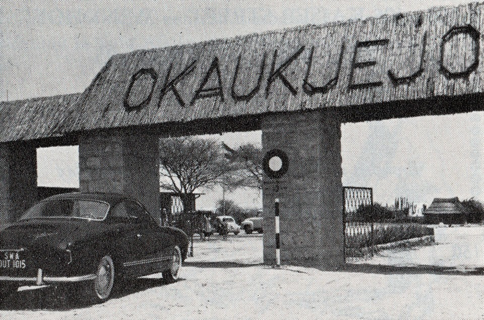 Okaukuejo Camp has been offering Etosha National Park Camping since the 60s