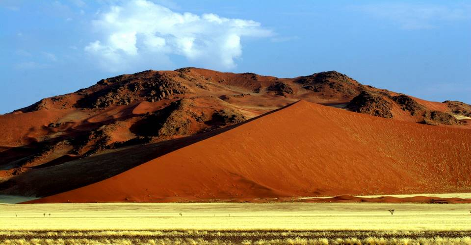 Camping in Namibia the Namib