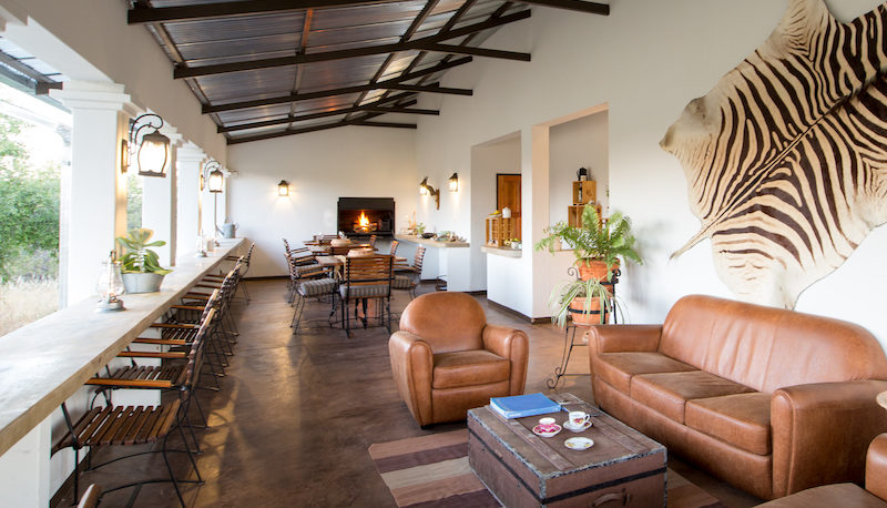Onguma Tamboti Campsite Facilities - The Lounge Area - Etosha National Park