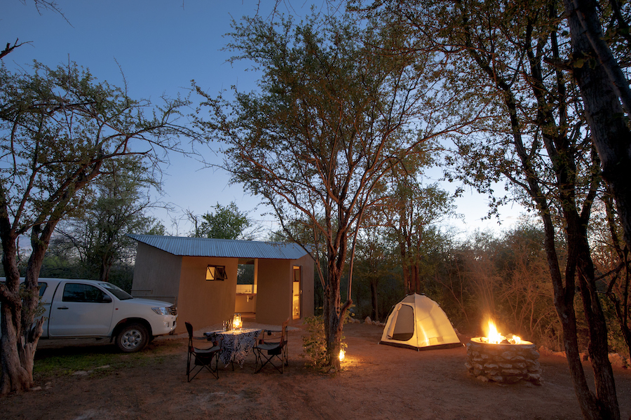 Onguma Tamboti Campsite next to the Etosha National Park