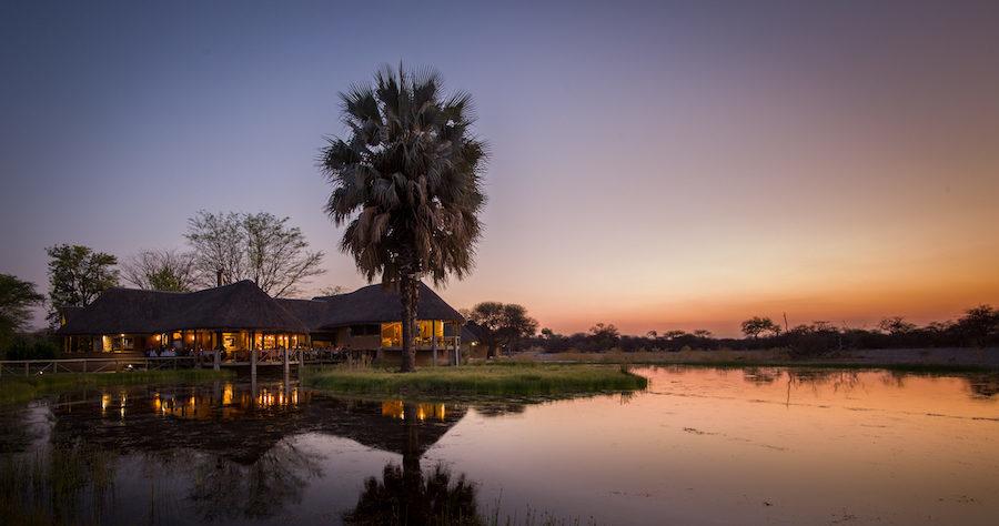 Onguma Bush Camp's site