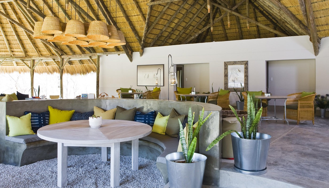 Mushara Bush Camp in Etosha National Park - Lounge Area