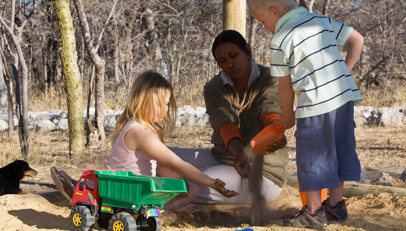 Mushara Bush Camp is kids friendly