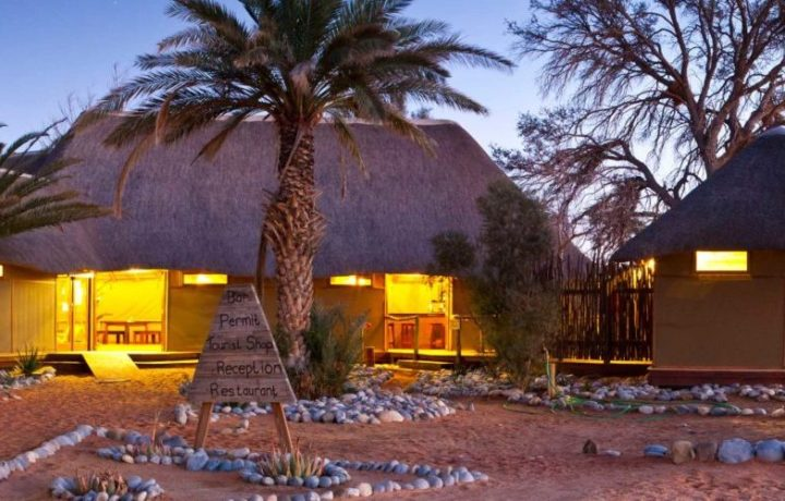 Sesriem Campsite is a famous attraction in Namibias Namib-Naukluft Reserve